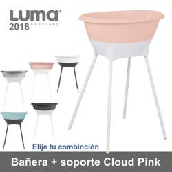 Bañera con soporte Luma Cloud Pink elige tu combinación 2018 Baño