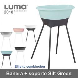 Bañera con soporte Luma Silt Green Pink elige combinación 2018 Baño