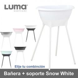 Bañera con soporte Luma Snow White elige tu combinación Baño