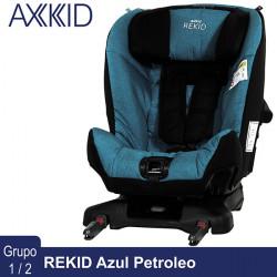 Axkid Rekid Azul Petrolio silla auto contramarcha 25 kg Grupo 1 2 Sillas auto