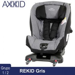 Axkid Rekid Gris silla auto contramarcha 25 kg Grupo 1 2 Sillas auto