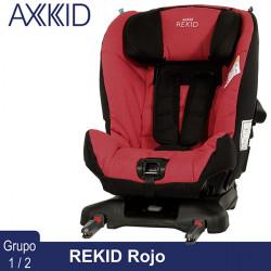 Axkid Rekid Rojo silla auto contramarcha 25 kg Grupo 1 2 Sillas auto