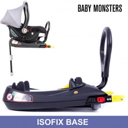 Easy Twin 3.0S Base Isofix para Grupo 0 Luna Baby Monsters Gemelares Trillizos