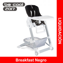 Be Cool trona y hamaca dos en uno reclinable Breakfast Negro