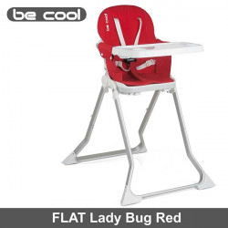 Be Cool trona plegable super compacta Flat Lady Bug Tronas