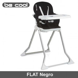 Be Cool trona plegable super compacta Flat Negro Tronas