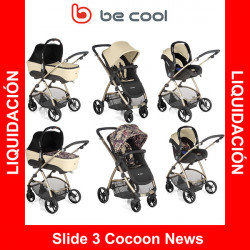 Be Cool Slide 3 Cocoon News cochecito 3 piezas reversible