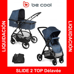 Be Cool Slide 2 Top Delavee cochecito 2 piezas reversible