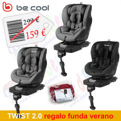Be Cool silla auto contra marcha Twist 2.0 REGALO FUNDA