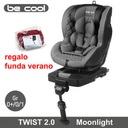 Be Cool silla auto contra marcha Twist 2.0 Moonlight 2018 Gr 0/1 Sillas auto