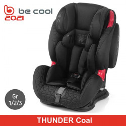 Be Cool Jane silla auto Grupo 1/2/3 Thunder Coal Sillas auto