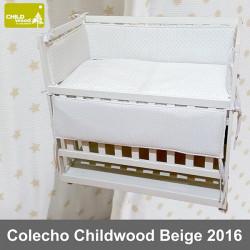Childwood mini cuna colecho completa color beige 2016 Minicunas y Cunas Colecho