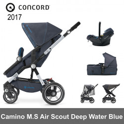 Concord Camino Mobility Set Air Scout Deep Water Blue 2017  Cochecitos