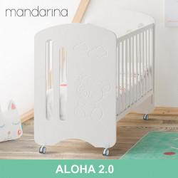 Cuna colecho Aloha 2.0 NUEVA para bebé blanca 120 x 60 Mobiliario y decoración