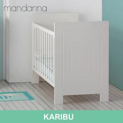 Cuna colecho Karibu para bebé blanca 120 x 60 Mobiliario y decoración