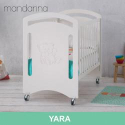 Cuna colecho Yara para bebé blanca 120 x 60 Mobiliario y decoración
