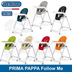 Peg-Perego trona Prima Pappa Follow Me Ice colores 2019