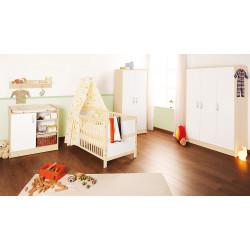 Habitación infantil FLORIAN G melamina y pino Mobiliario y decoración