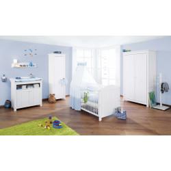 Habitación infantil NINA  abeto  blanco/decapé Mobiliario y decoración
