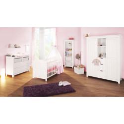Habitación infantil NINA BG abeto blanco/decapé Mobiliario y decoración