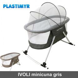 Ivoli minicuna cuna de viaje plegable gris 2018 Minicunas y Cunas Colecho