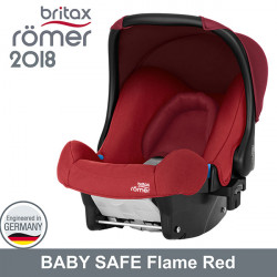 Romer Baby Safe Flame Red 2018 silla contramarcha Gr.0 Sillas auto