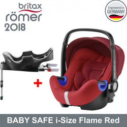 Romer Baby Safe i-Size Flame Red 2018 silla contramarcha Gr.0 Sillas auto