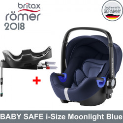 Romer Baby Safe i-Size Moonlight Blue 2018 silla contramarcha Gr.0 Sillas auto