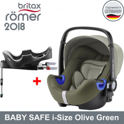 Romer Baby Safe i-Size Olive Green 2018 silla contramarcha Gr.0 Sillas auto