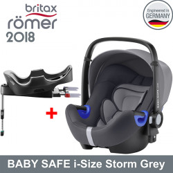 Romer Baby Safe i-Size Storm Grey 2018 silla contramarcha Gr.0 Sillas auto