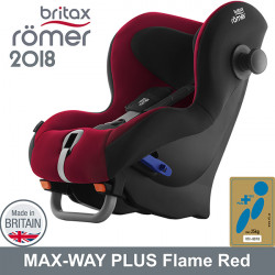 Romer Max Way Plus Flame Red 2018 silla auto contramarcha G1/2 Sillas auto