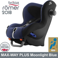 Romer Max Way Plus Moonlight Blue 2018 silla auto contramarcha G1/2 Sillas auto