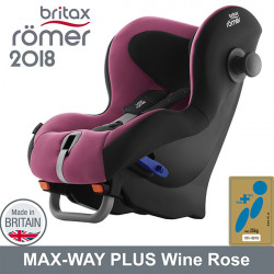 Romer Max Way Plus Wine Rose 2018 silla auto contramarcha G1/2 Sillas auto