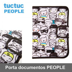 TucTuc porta documentos de la colección People 2017 Porta documentos