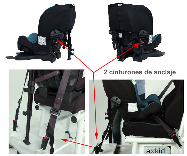 Tienda De Bebes Axkid Rekid Negro Silla Auto Contramarcha
